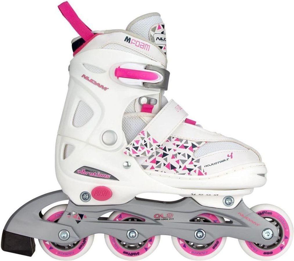 aa1ac2a5604 Goedkoopste Nijdam inline skates verstelbaar junior maat 27 30 ...
