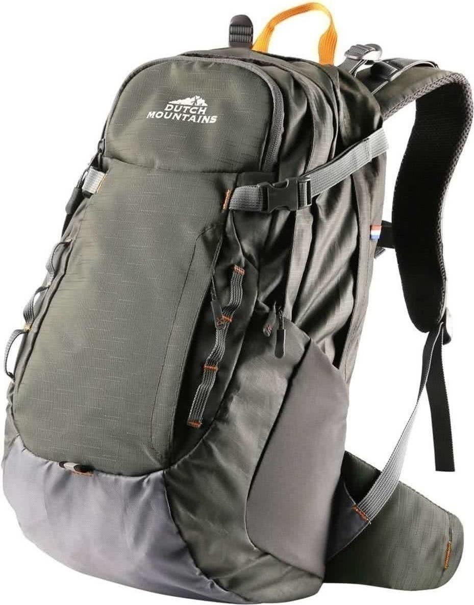 707b75a9680 Dutch Mountains - Backpack Vecht - Rugzak 30 Ltr - Rugventilatie + Regenhoes  - Groen