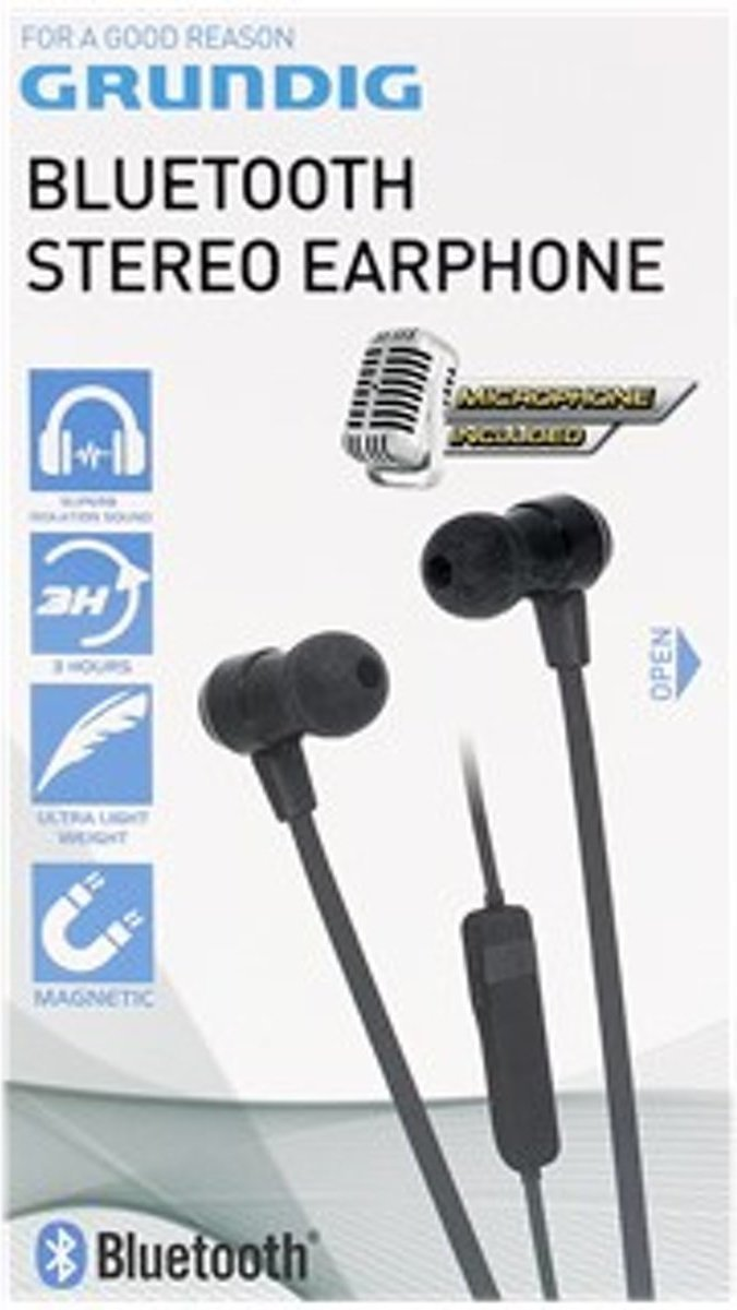 goedkoopste grundig bluetooth stereo earphone vergelijken. Black Bedroom Furniture Sets. Home Design Ideas