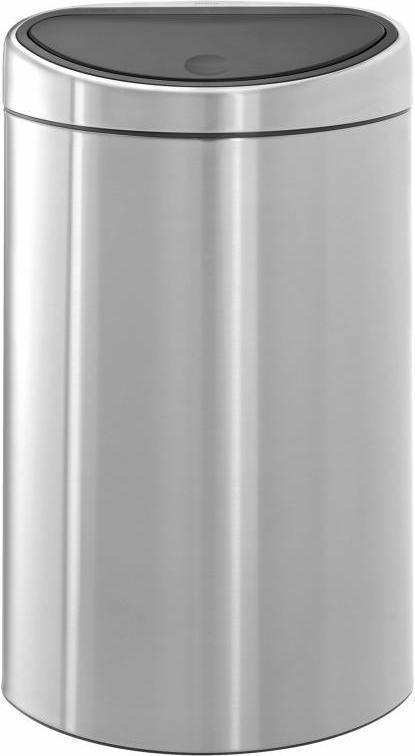 Brabantia Prullenbak 40 Liter.Goedkoopste Brabantia Touch Bin Prullenbak 40 L Matt Steel