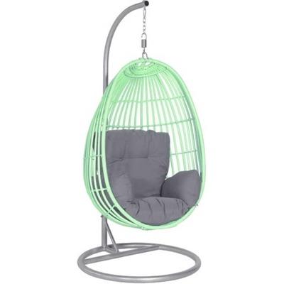 Hangstoel Egg Chair.Hangstoel Egg Groen