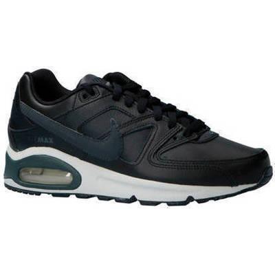 hot sale online 51ecd 45684 Nike Air Max Command Leer - ZwartWit