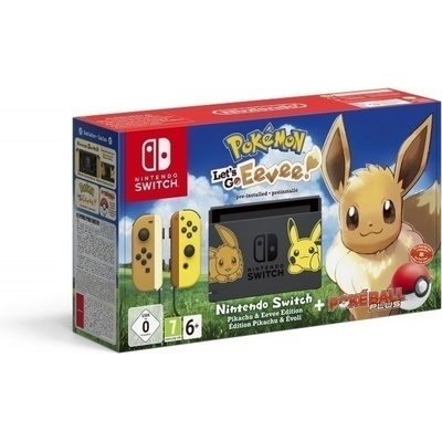 Goedkoopste Nintendo Switch Pokemon Lets Go Evoli Bundel
