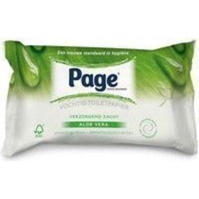 Page Vochtig Toiletpapier.Goedkoopste Page Vochtig Toiletpapier Aloe Vera 42 St Vergelijken En