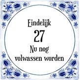 Goedkoopste Verjaardag Tegeltje Met Spreuk 41 Jaar Gefeliciteerd